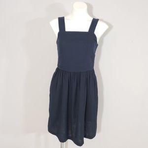 LOFT Navy Blue Sleeveless Dress